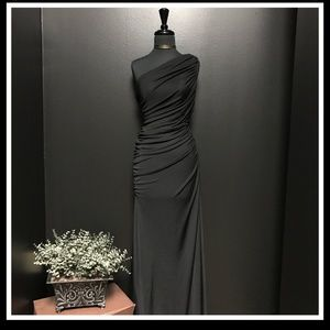 Tadashi black dress